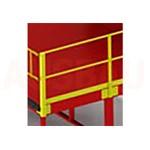12. Ringhiera su 2 lati L (OPT-HRL). Per una maggiore sicurezza dei pedoni che lavorano sulla piattaforma. L'altezza è di 1000 mm.