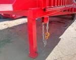 2) la catena collega in modo affidabile la rampa a tutti i tipi di camion;