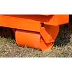 6. Una coppia di ruote per movimento locale (OPT-WL). Permette di spostare la rampa da un cancello all'altro usando un caricatore.