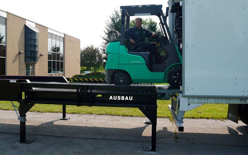 Piattaforma di carico AUSBAU-PLT