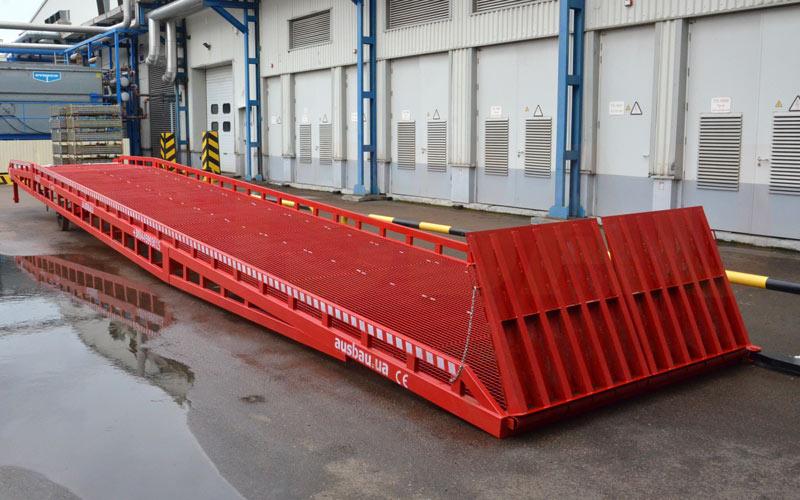 Rampa di carico mobile AUSBAU sotto l'ordine