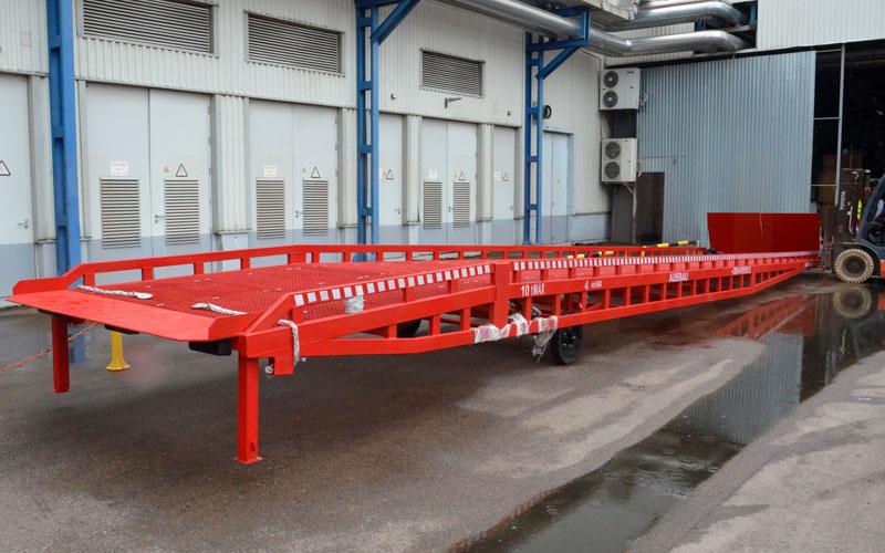 Rampe di carico mobili AUSBAU-SPCL10-2SL